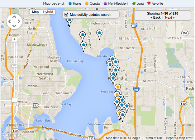 Real Estate in Kirkland WA