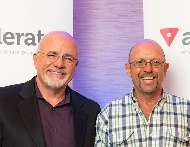 Dave Ramsey with Forth Hoyt at Dave Ramsey ELP Invitation Only
