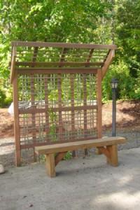 2362 Erie Terrace bench