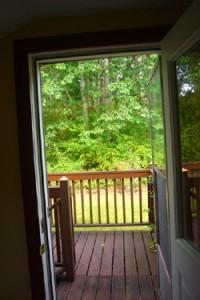 2362 Erie Terrace door to deck