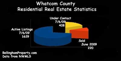 Whatcom County Real Estate Market Chart