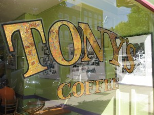 Tony's Coffee in Bellingham, WA