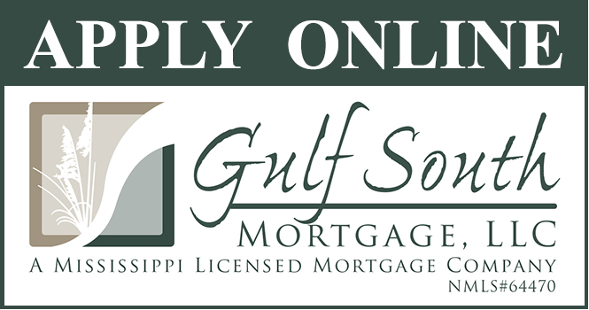 Apply for a mortgage now!  Mortgage rates are low, so apply now to find out how much you can qualify for.  New construction loans for Biloxi, Gulfport and Ocean Springs Mississippi areas.  Other loans include VA, FHA, Conventional and USDA or Rural Development loans.