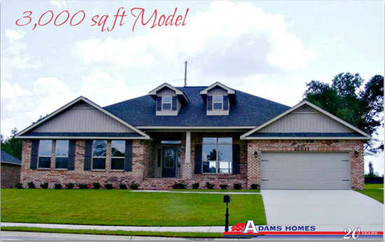 Adams homes ms gulf coast power search for Home builders in gulfport ms