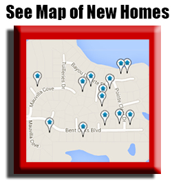 Map of all new construction homes for sale in biloxi, gulfport, ocean springs