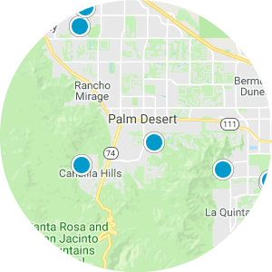 The Estates at Rancho Mirage Real Estate Map Search