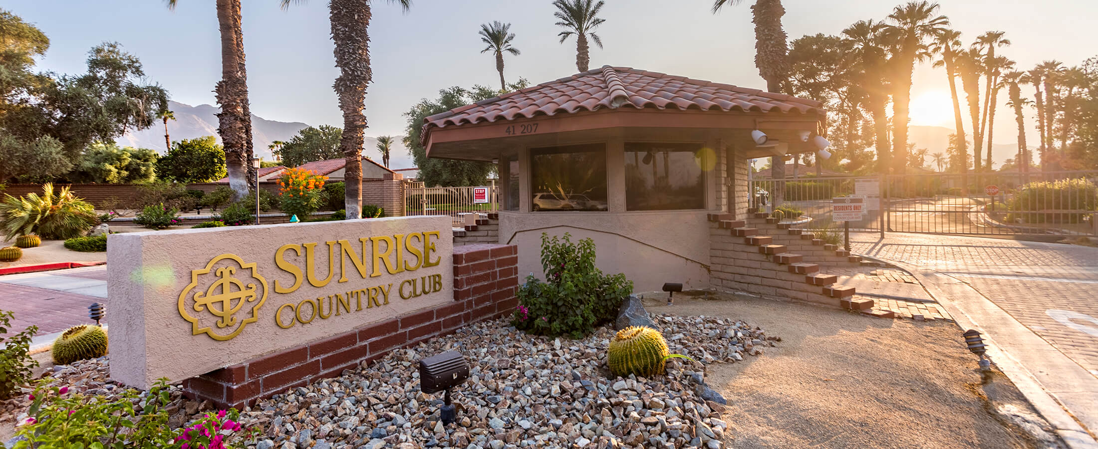 Sunrise Country Club Rancho Mirage Homes for Sale