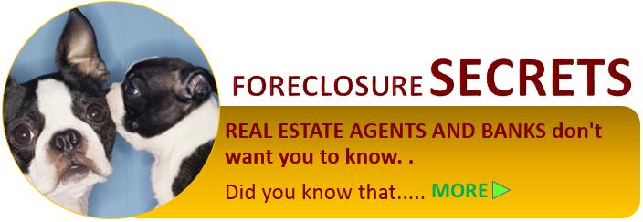 foreclosure secrets