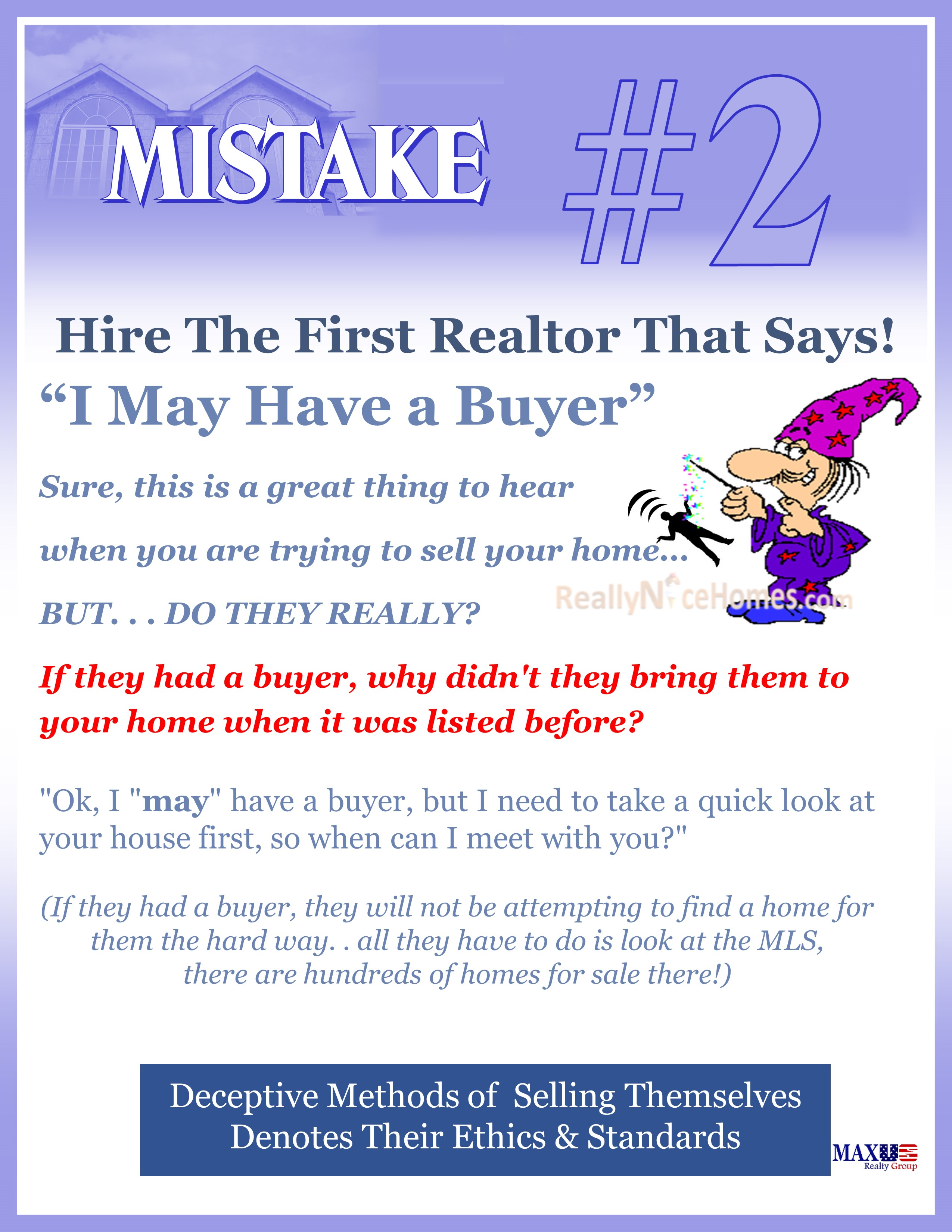 Expired Mistakes When Selling