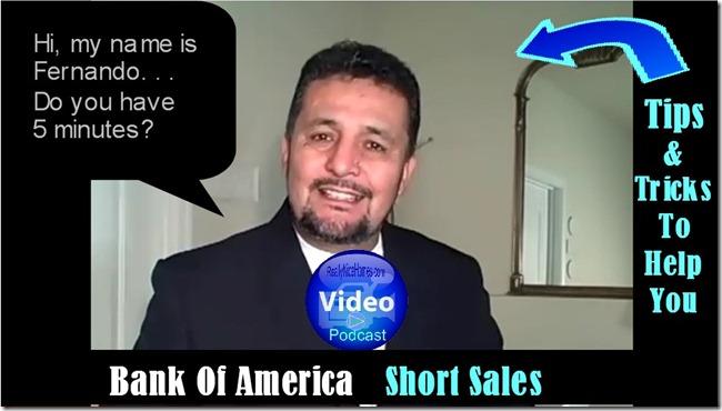 Bank Of Amercia Short Sales