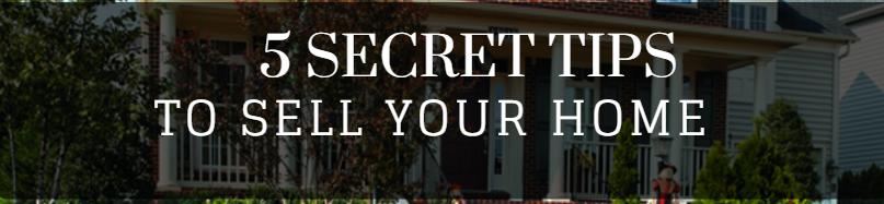 secrets to sell yoru home