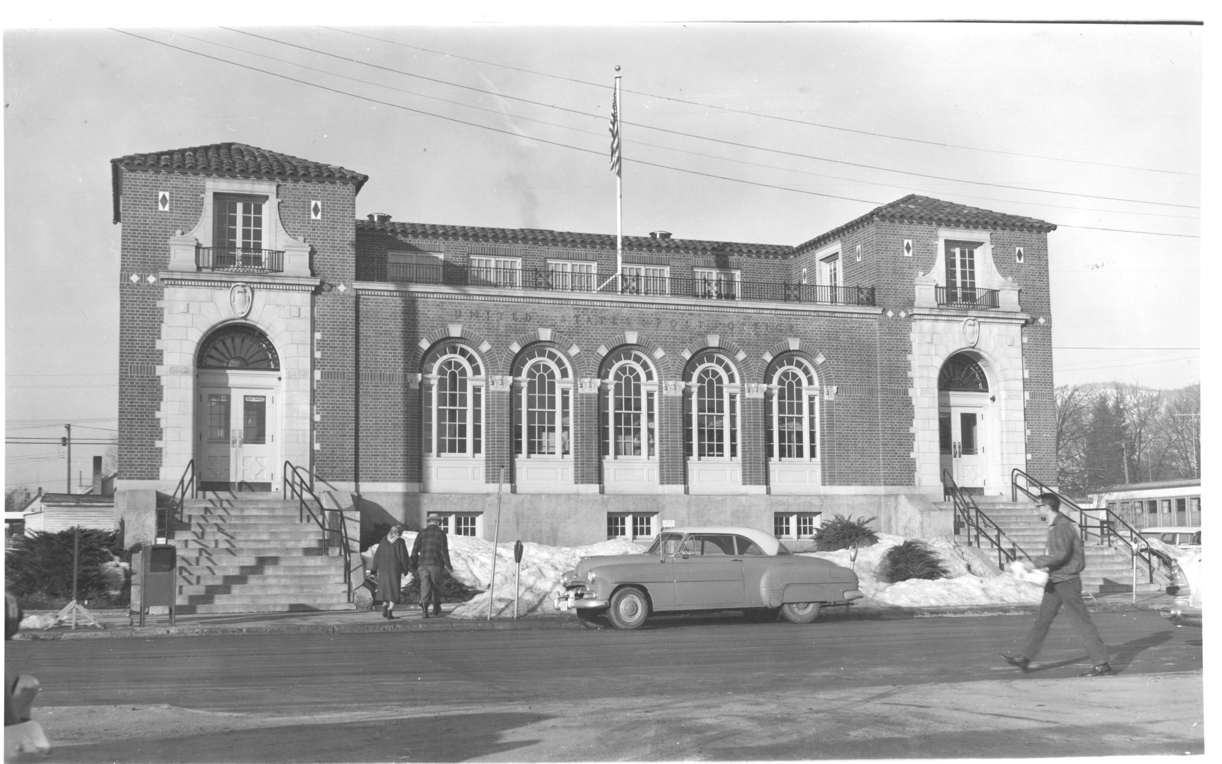Historic Sandpoint federal building.