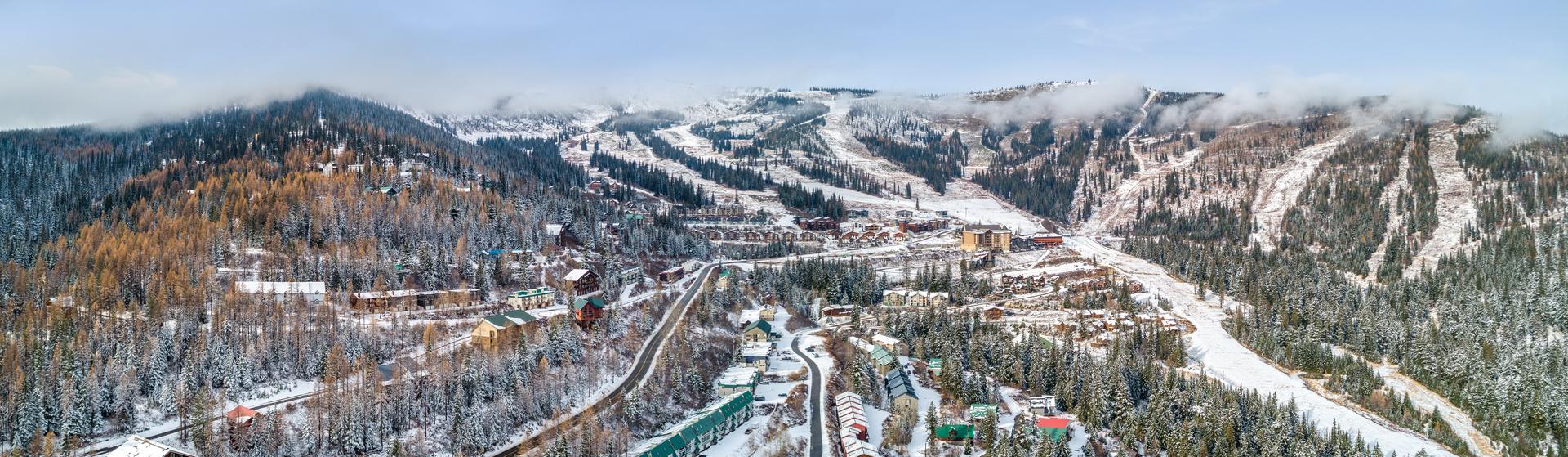 Schweitzer Aerial Winter