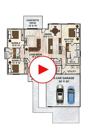 2195-R Floorplan