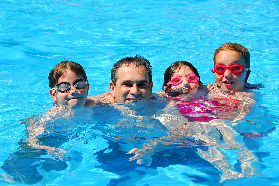 Everyone living in Sedona goes to the pool this summer.
