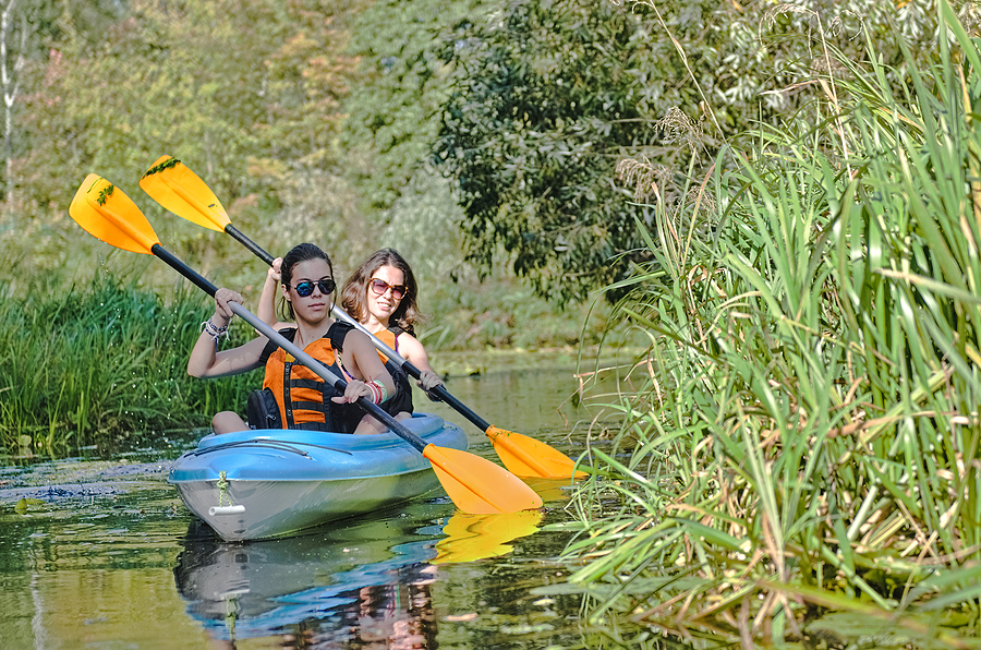 Everyone living in Sedona loves kayaking the Verde River.