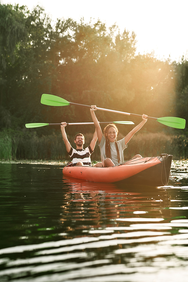 Go kayaking near Clarkdale homes.
