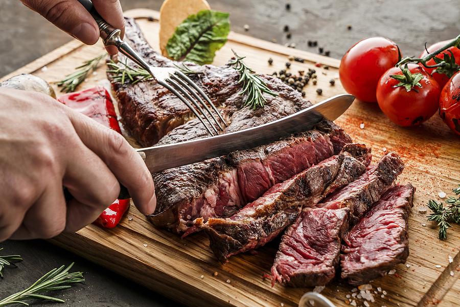 People from Sedona homes eat at Cowboy Club.