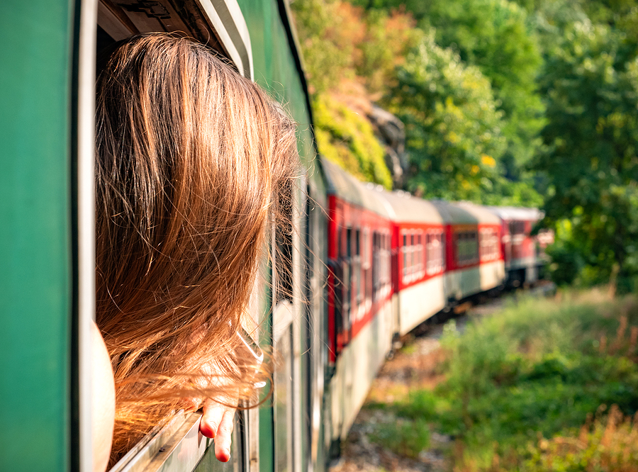 Take a musical train ride near Sedona homes.