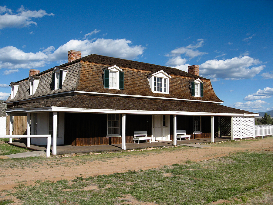 Visit historic Camp Verde real estate.