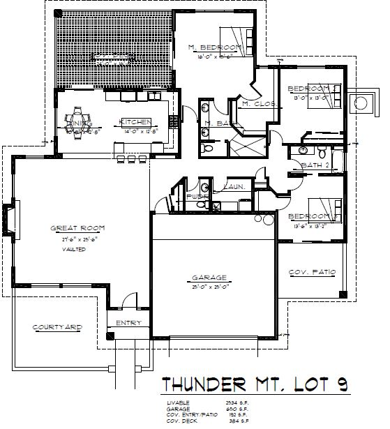 Sedona new construction floor plan