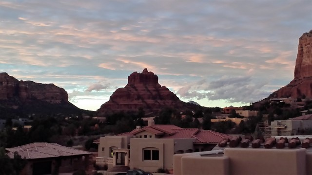 Red rock view from Sedona AZ real estate