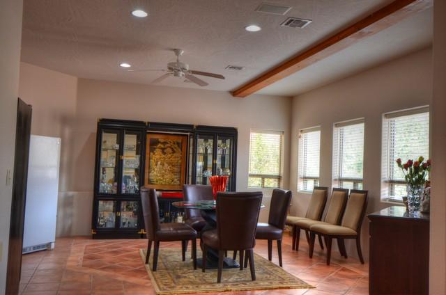 Lower level dining Sedona Real Estate