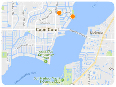 Cape Coral Map Search