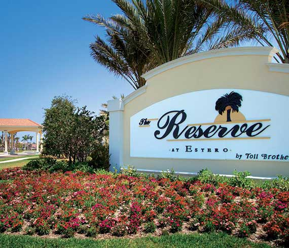 The Reserve at Estero, Estero Real Estate