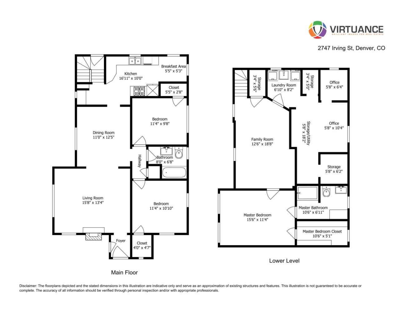 2747 Irving St Floorplan