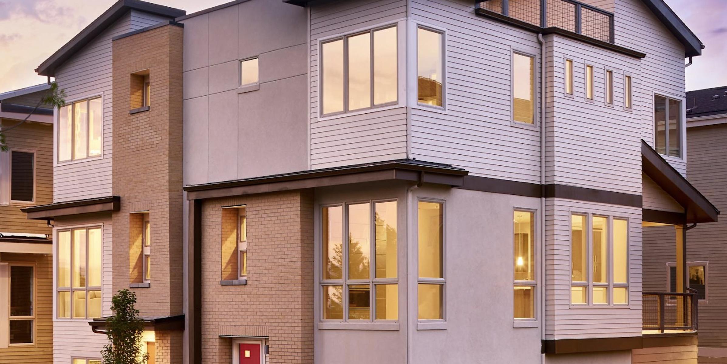 5390' Community by Koelbel in the Berkeley Tennyson Neighborhood Denver New Construction Homes For Sale Elevation2