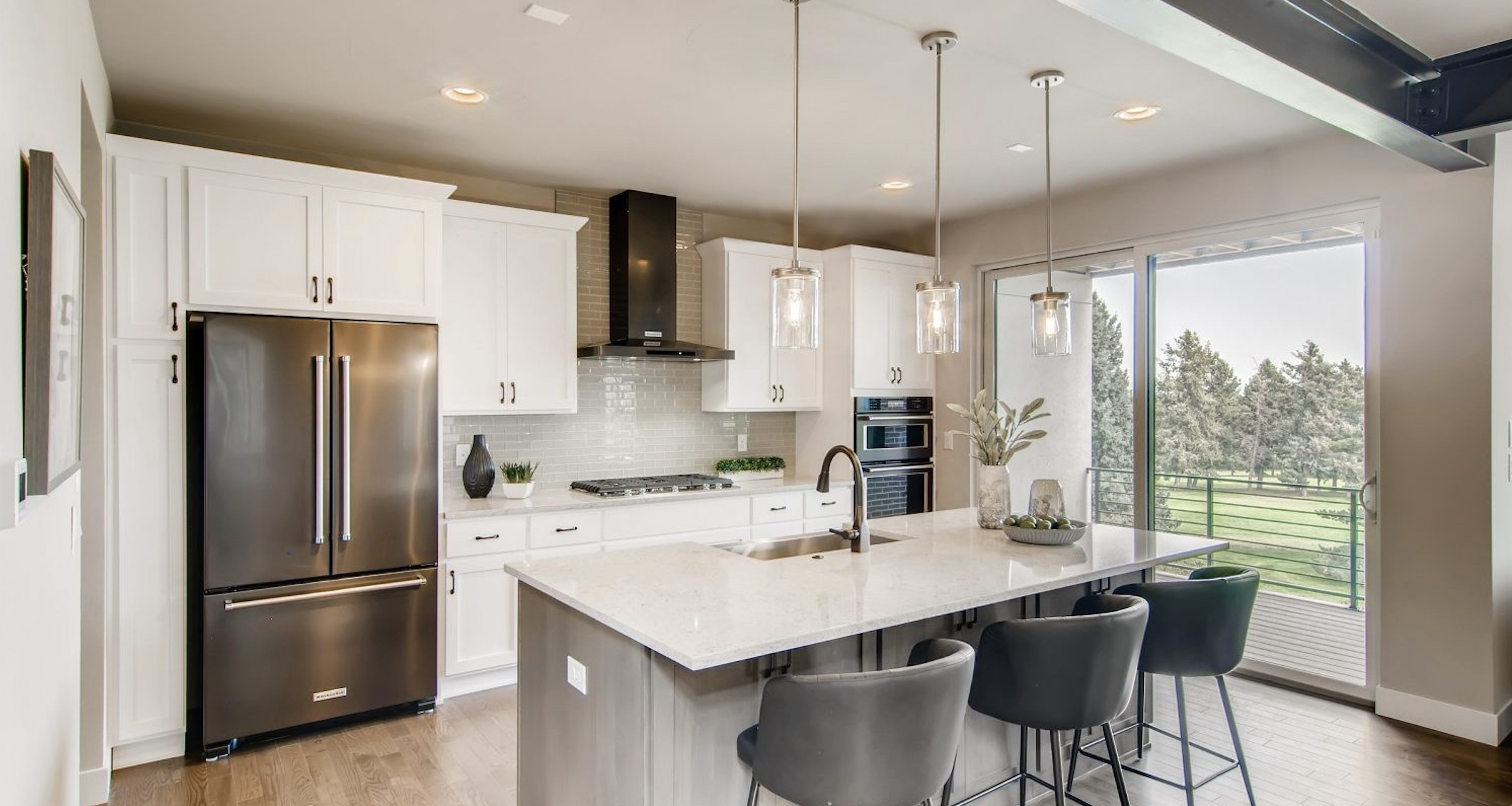 5390' Community by Koelbel in the Berkeley Tennyson Neighborhood Denver New Construction Homes For Sale Kitchen