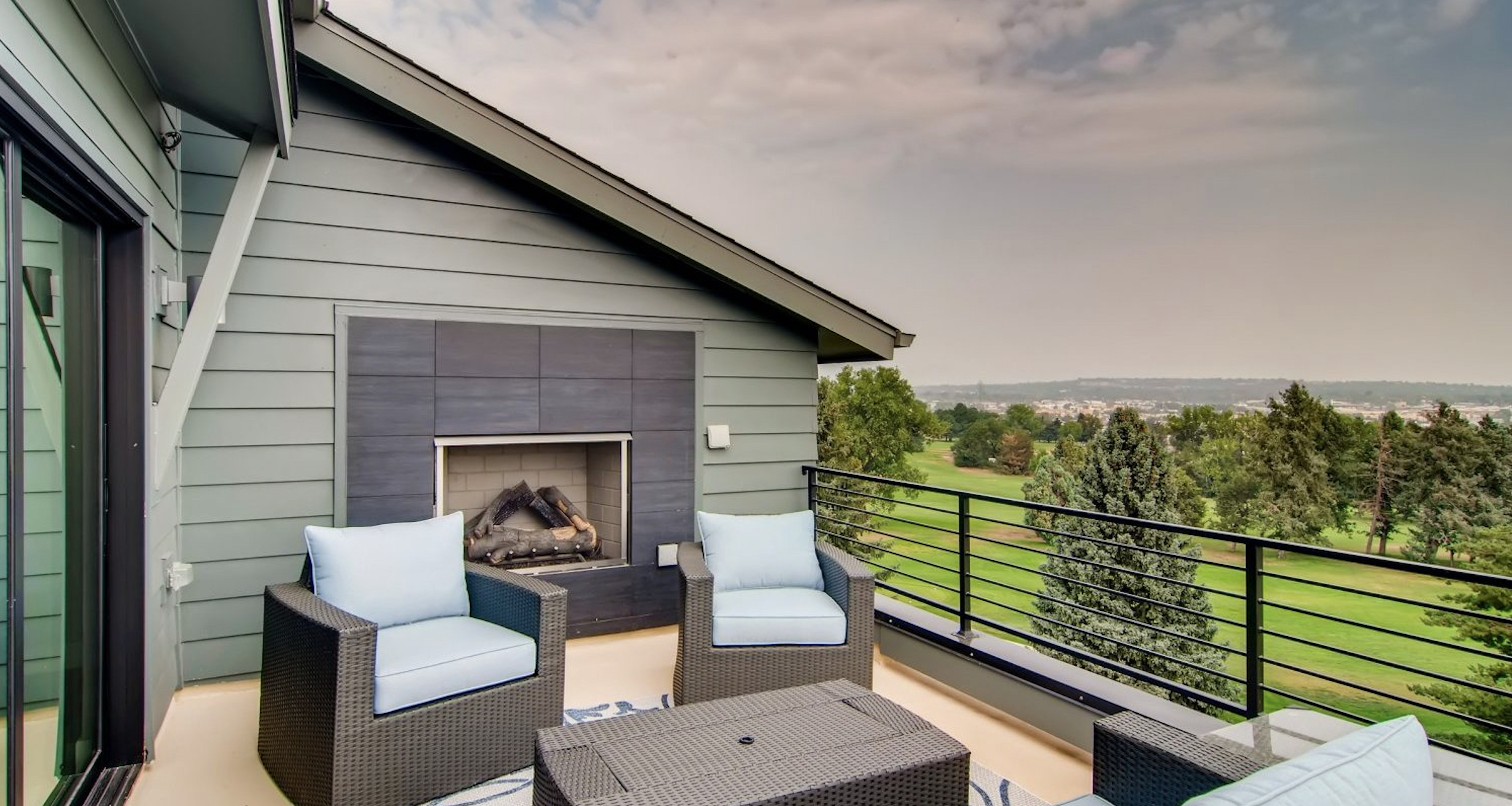 5390' Community by Koelbel in the Berkeley Tennyson Neighborhood Denver New Construction Homes For Sale Rooftop