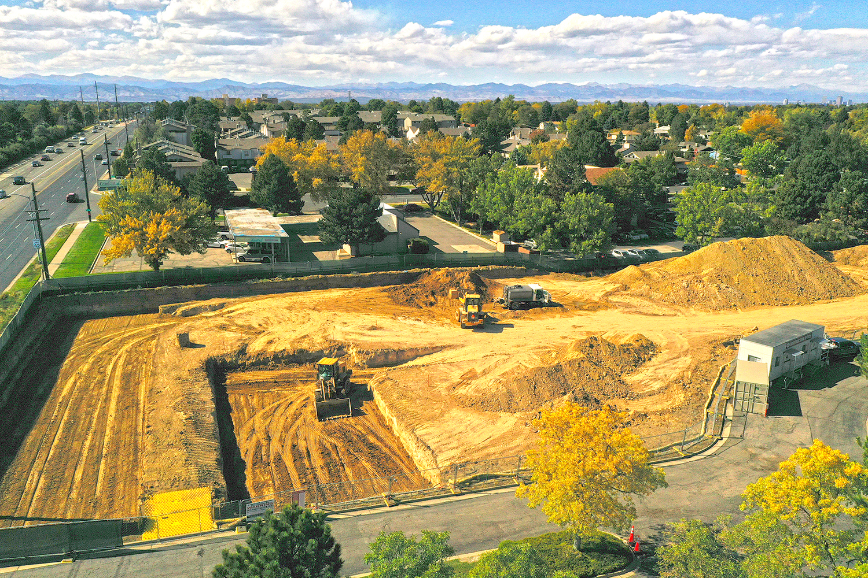 BridgeCreek Townhome Denver Construction October 9 2019