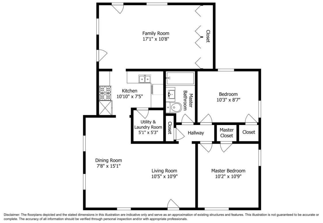 645 S Pecos St Floorplan