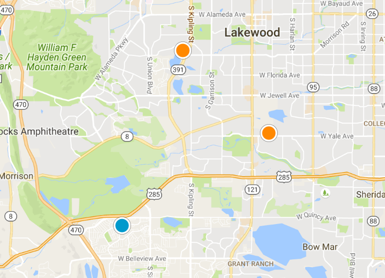 Denver Realtor Reviews Lakewood And Morrison Homes For Sale October 13 2016 Map Search