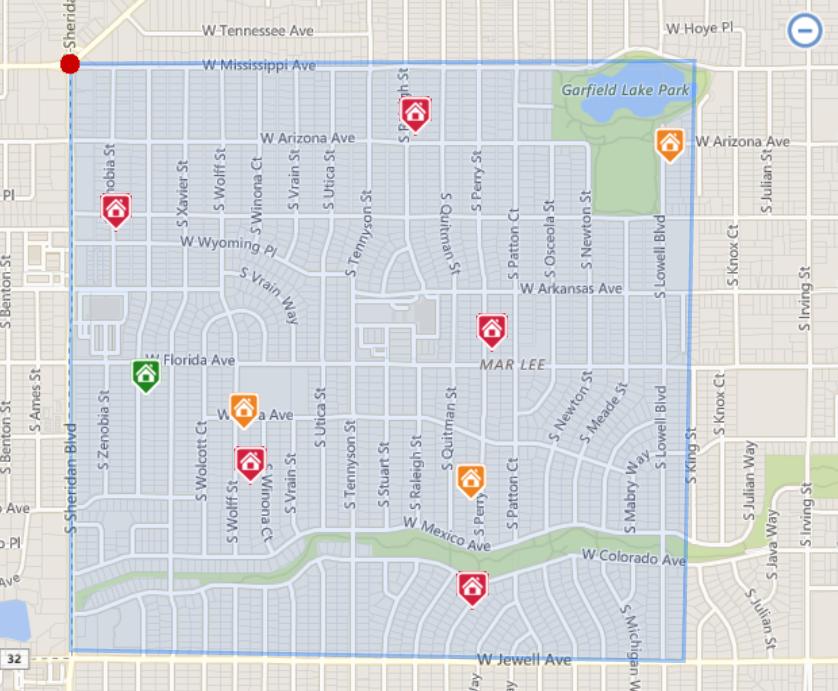 Denver Realtor Reviews Mar Lee Neighborhood