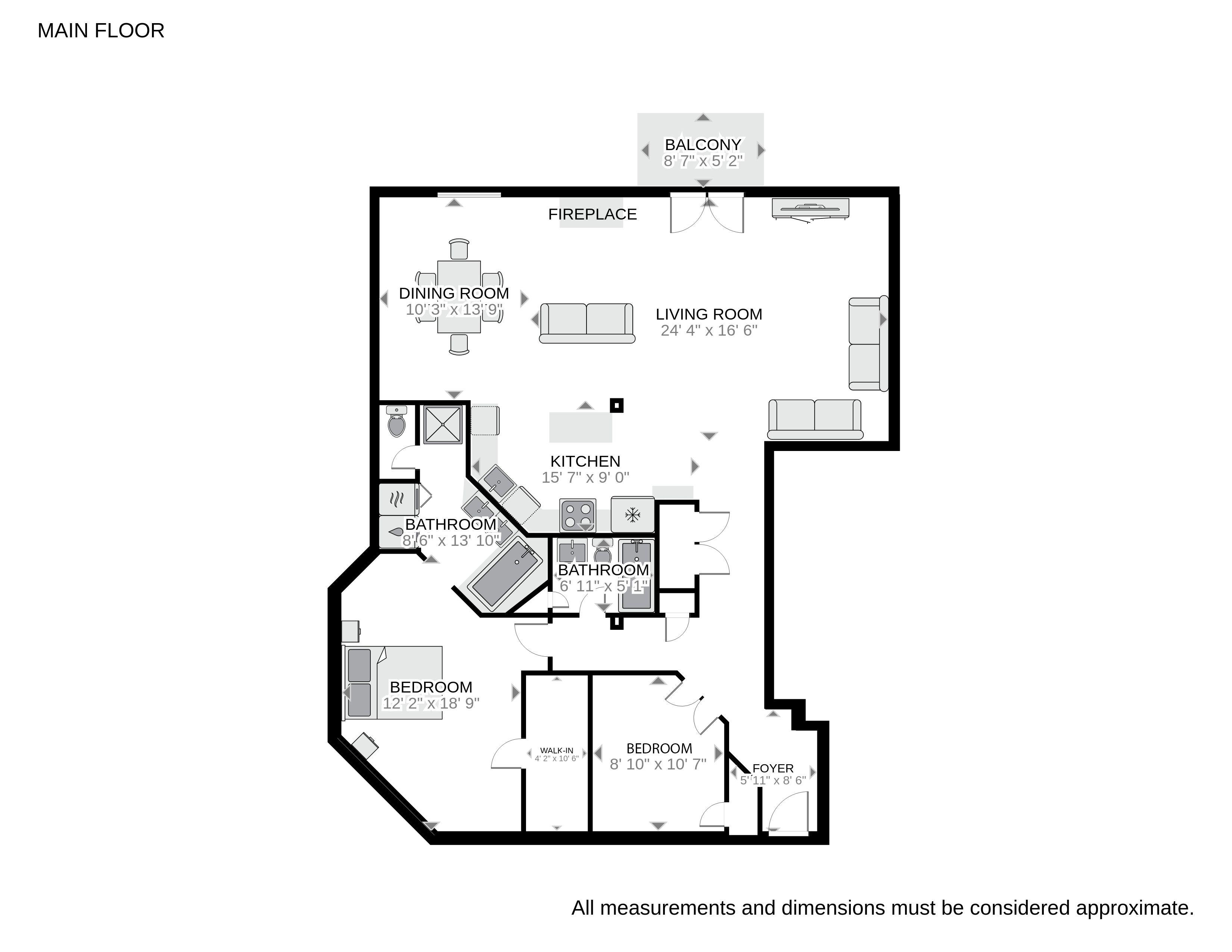 Floorplan for 1127 Auraria Pkwy Unit 404, Auraria Neighborhood, Denver