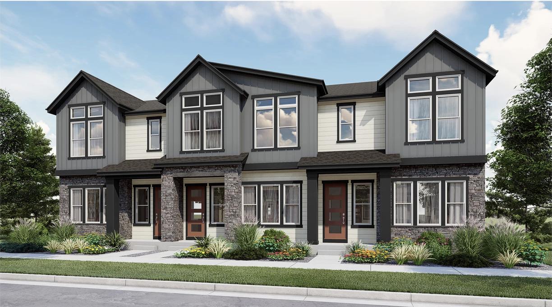 Hance Station New Construction, Remington Homes, Wheat Ridge Elevation
