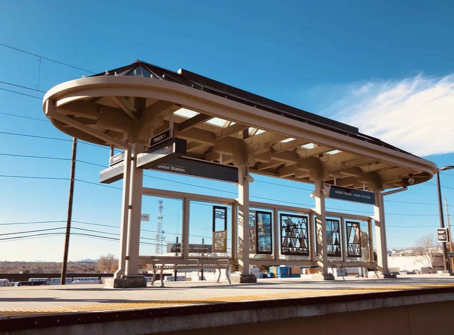 Hance Station New Construction, Remington Homes, Wheat Ridge Light Rail Station
