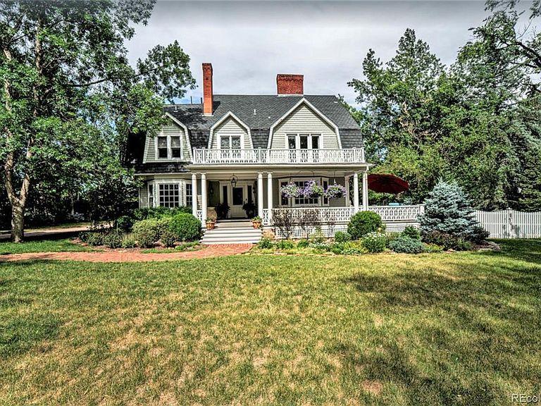 Historic Colorado Front Range Homes Belle Cottage
