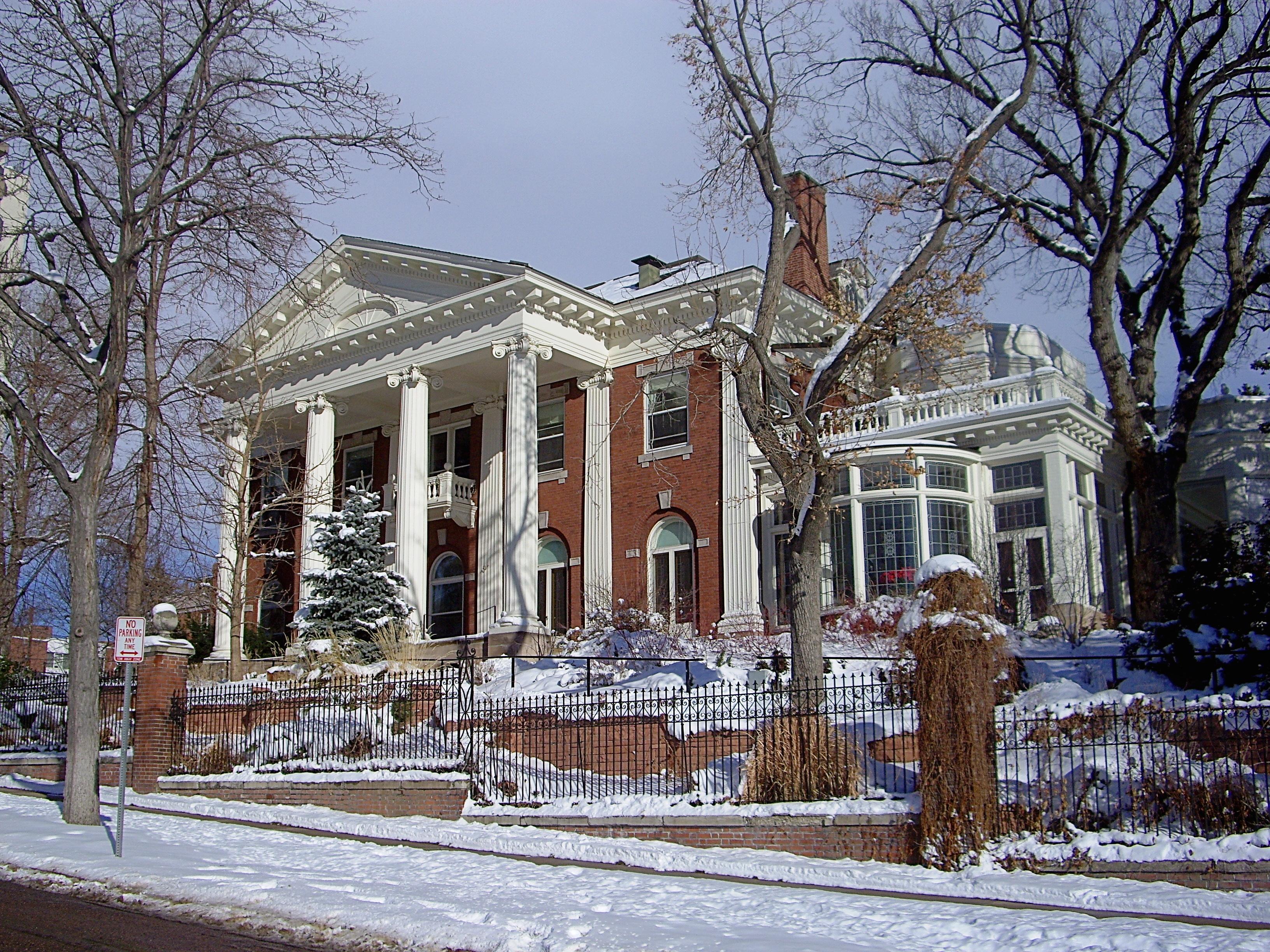 Historic Colorado Front Range Homes Governor's Mansion