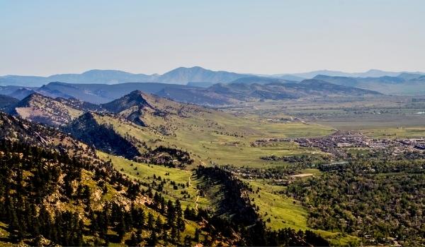 Historic Colorado Front Range Homes Moutains