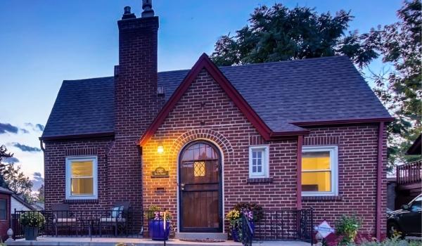 Historic Colorado Front Range Homes Tudor