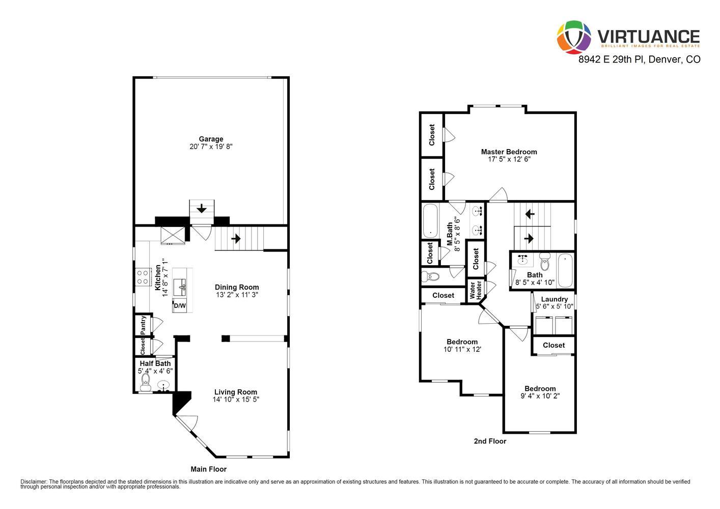 Immaculate Stapleton Home large 002 1 Floorplan 1415x1000 72dpi Stapleton Neighborhood Home For Sale   8942 E 29th Pl
