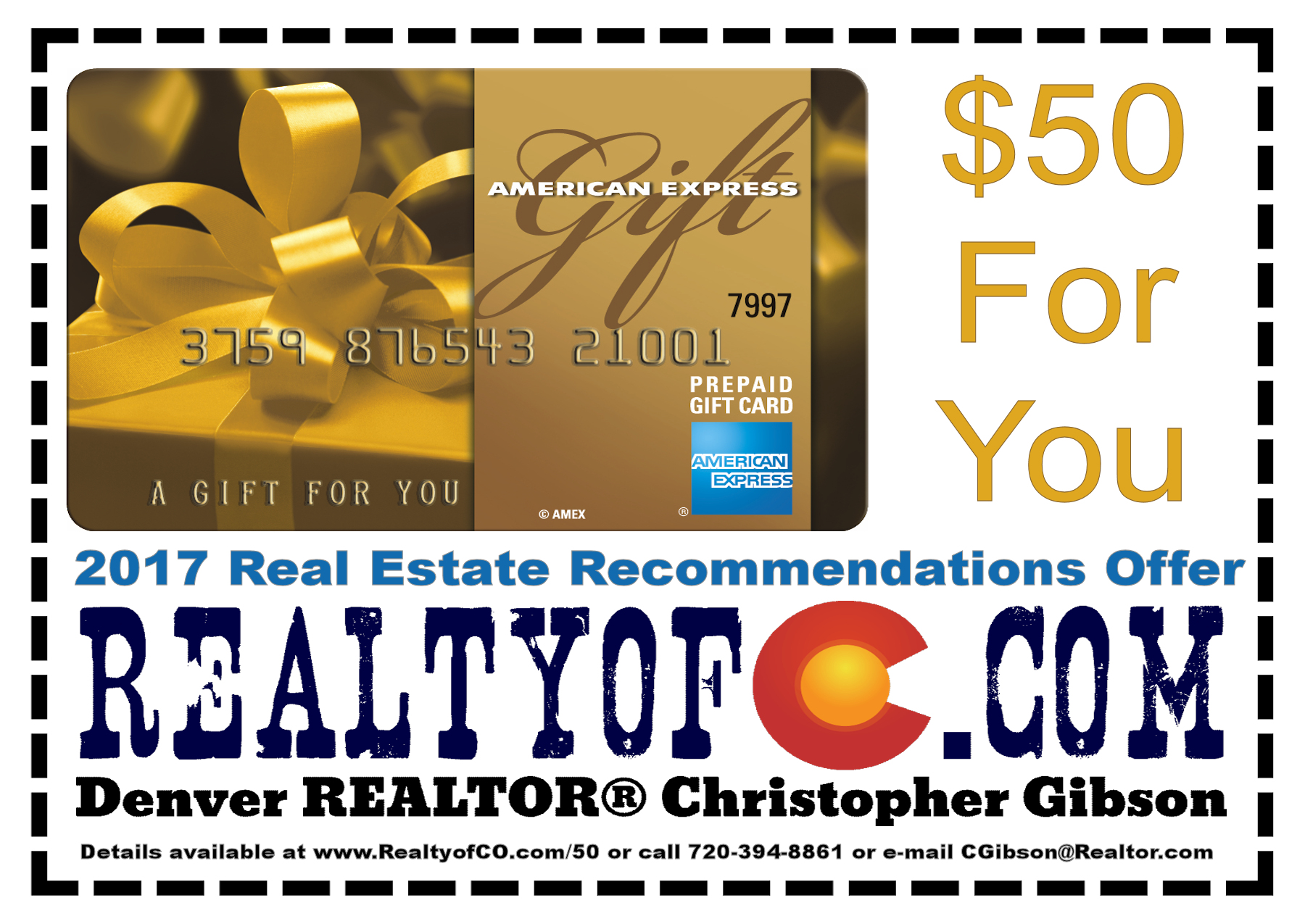 Recommend Denver Realtor Christopher Gibson