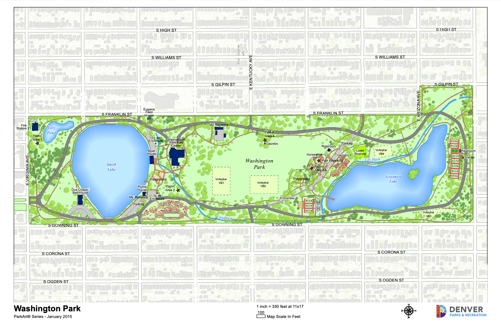Wash Park Market Report Map