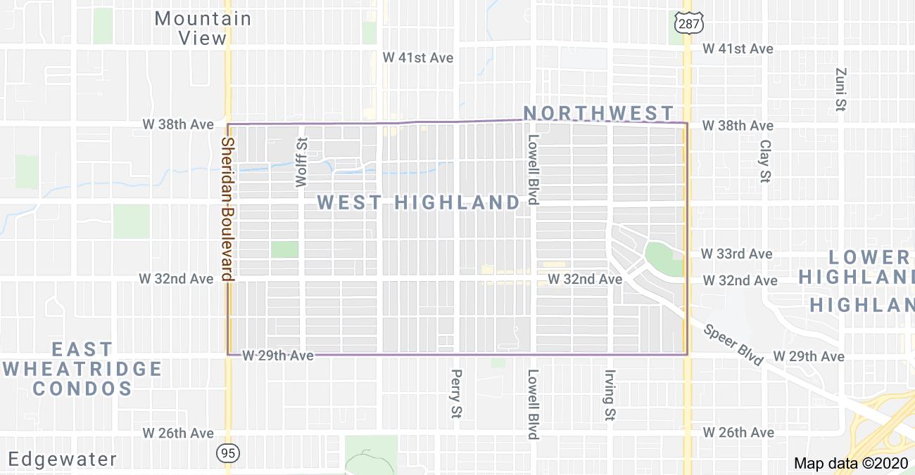 West Highlands Square Neighborhood Map
