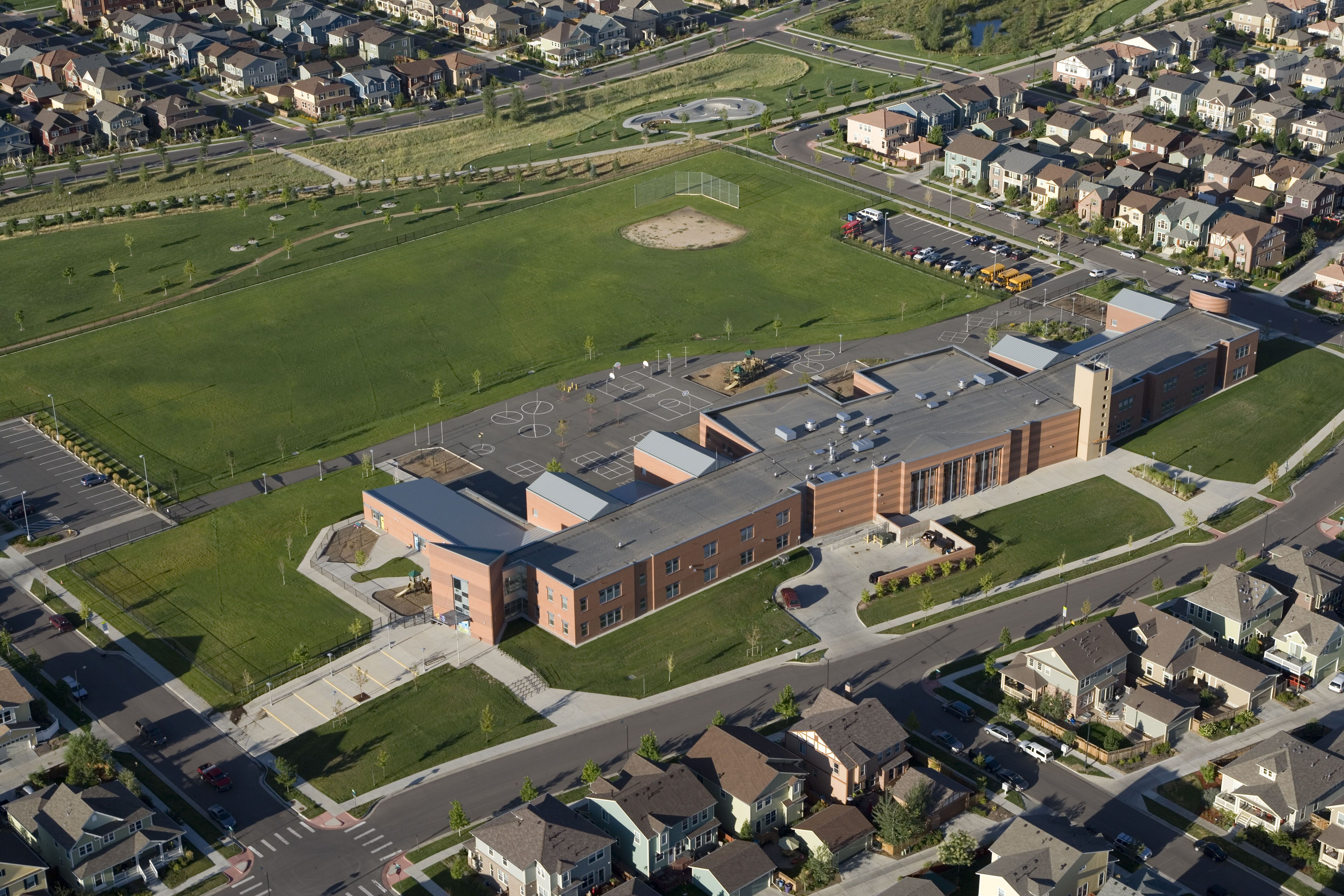Westerly Creek Elementary School Denver Homes For Sale Campus