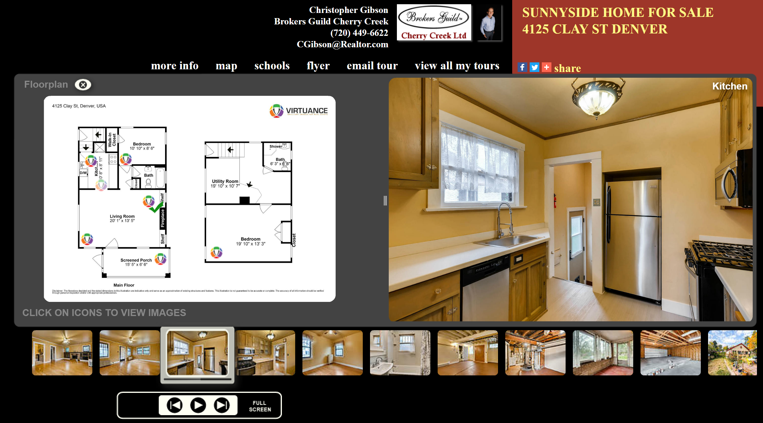 flat fee Denver real estate virtual tours and floor plans